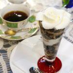 【西荻窪】美しい!白バラが咲くコヒーパフェ『びあん香』